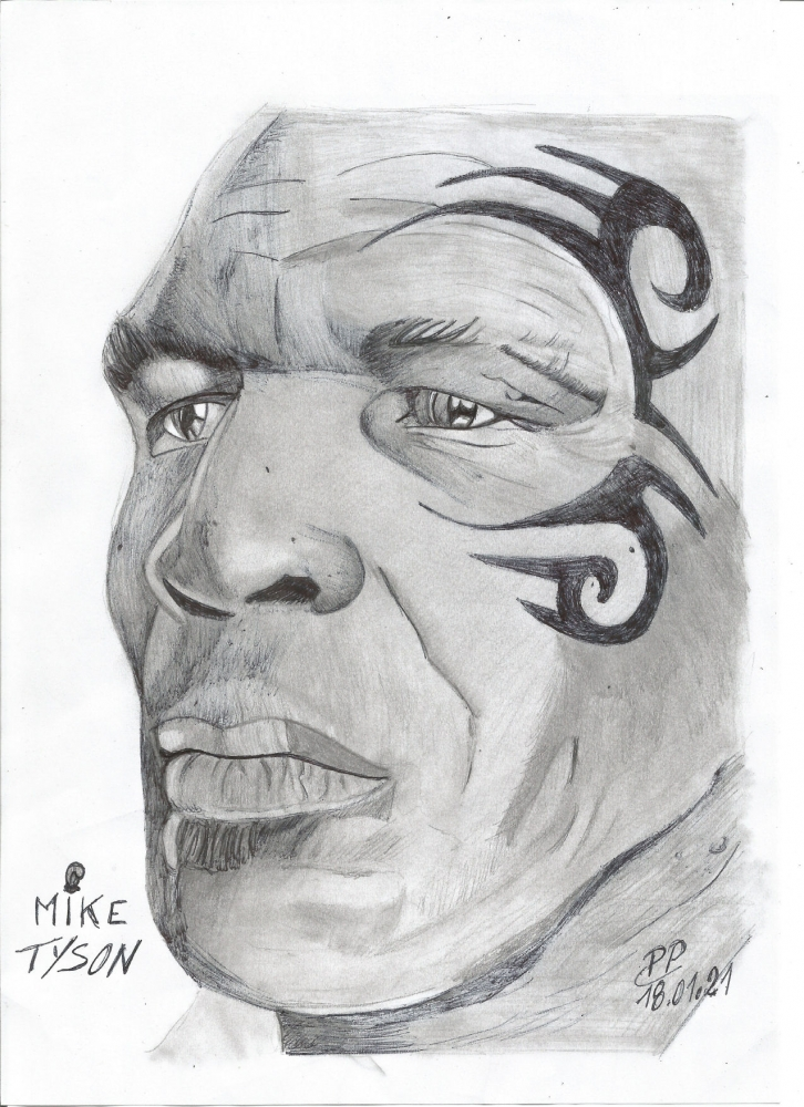 Mike Tyson por Patoux